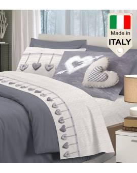 Piumino Bianco ANALLERGICO letto matrimoniale antiacaro invernale Made Italy