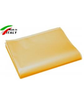 Copritutto copridivano copriletto foulard telo arredo moda puro cotone giallo